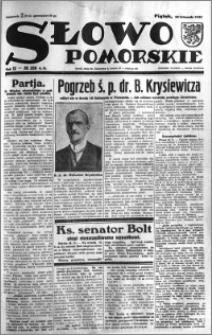 Słowo Pomorskie 1932.11.18 R.12 nr 266