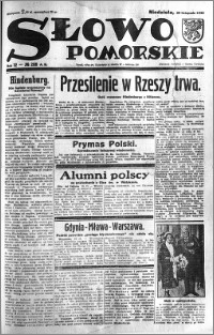 Słowo Pomorskie 1932.11.20 R.12 nr 268