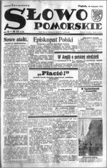 Słowo Pomorskie 1932.11.25 R.12 nr 272