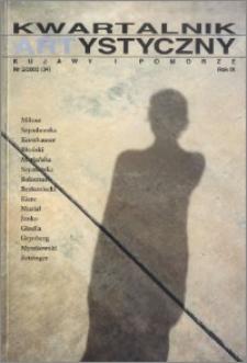 Kwartalnik Artystyczny : Kujawy i Pomorze 2002 nr 2(34)