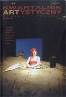 Kwartalnik Artystyczny : Kujawy i Pomorze 2002 nr 3(35)