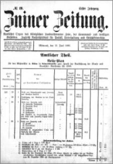 Zniner Zeitung 1888.06.13 R.1 nr 19