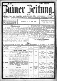 Zniner Zeitung 1888.06.27 R.1 nr 23