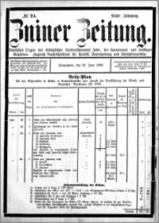 Zniner Zeitung 1888.06.30 R.1 nr 24