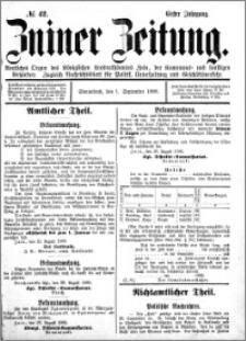 Zniner Zeitung 1888.09.01 R.1 nr 42