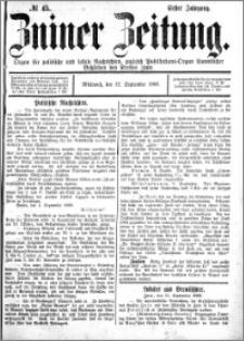 Zniner Zeitung 1888.09.12 R.1 nr 45