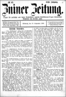 Zniner Zeitung 1888.09.19 R.1 nr 47