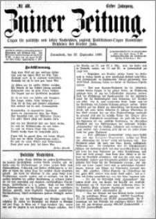 Zniner Zeitung 1888.09.22 R.1 nr 48