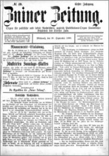 Zniner Zeitung 1888.09.26 R.1 nr 49