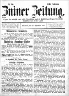 Zniner Zeitung 1888.09.29 R.1 nr 50