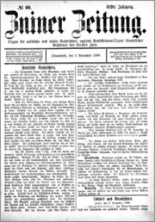 Zniner Zeitung 1888.11.03 R.1 nr 60