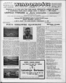 Wiadomości, R. 23 nr 41 (1176), 1968