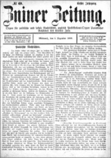 Zniner Zeitung 1888.12.05 R.1 nr 69