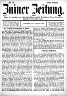 Zniner Zeitung 1888.12.08 R.1 nr 70