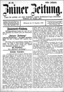 Zniner Zeitung 1888.12.19 R.1 nr 73