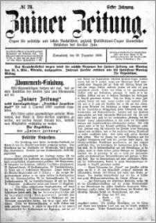Zniner Zeitung 1888.12.29 R.1 nr 78