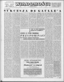 Wiadomości, R. 23 nr 42 (1177), 1968