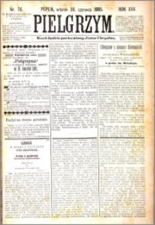 Pielgrzym, pismo religijne dla ludu 1885 nr 76