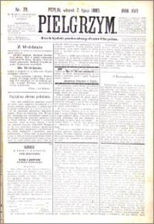 Pielgrzym, pismo religijne dla ludu 1885 nr 79