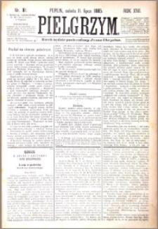 Pielgrzym, pismo religijne dla ludu 1885 nr 81