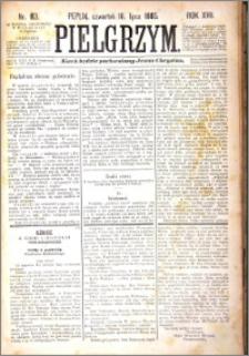 Pielgrzym, pismo religijne dla ludu 1885 nr 83