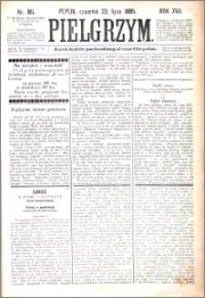 Pielgrzym, pismo religijne dla ludu 1885 nr 86