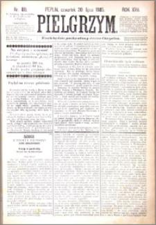 Pielgrzym, pismo religijne dla ludu 1885 nr 89