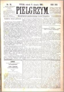 Pielgrzym, pismo religijne dla ludu 1885 nr 91