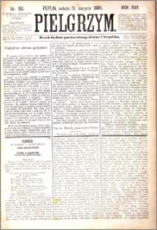 Pielgrzym, pismo religijne dla ludu 1885 nr 96