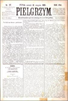Pielgrzym, pismo religijne dla ludu 1885 nr 97