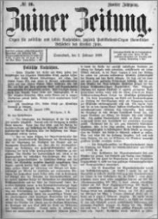 Zniner Zeitung 1889.02.02 R.2 nr 10