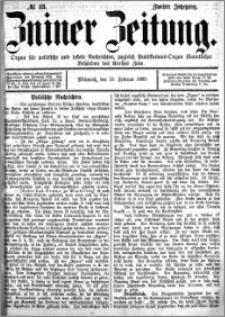 Zniner Zeitung 1889.02.13 R.2 nr 13