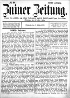 Zniner Zeitung 1889.03.05 R.2 nr 19