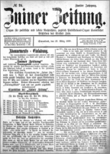 Zniner Zeitung 1889.03.23 R.2 nr 24