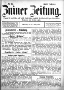 Zniner Zeitung 1889.03.27 R.2 nr 25