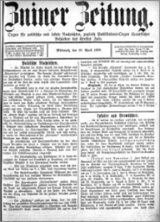 Zniner Zeitung 1889.04.10 R.2 nr 29