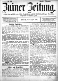Zniner Zeitung 1889.04.17 R.2 nr 31
