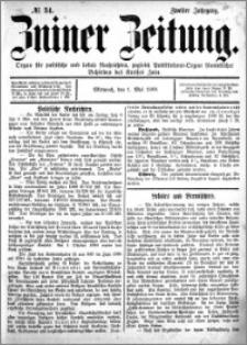 Zniner Zeitung 1889.05.01 R.2 nr 34