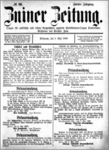 Zniner Zeitung 1889.05.08 R.2 nr 36