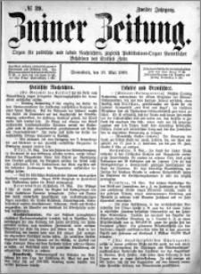 Zniner Zeitung 1889.05.18 R.2 nr 39