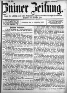 Zniner Zeitung 1889.09.14 R.2 nr 72