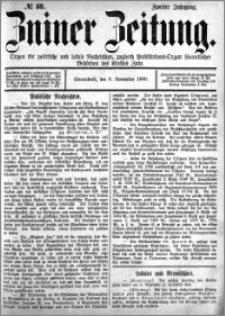 Zniner Zeitung 1889.11.09 R.2 nr 88