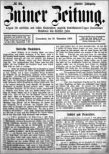 Zniner Zeitung 1889.11.30 R.2 nr 94