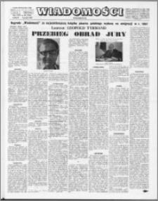Wiadomości, R. 23 nr 49 (1184), 1968