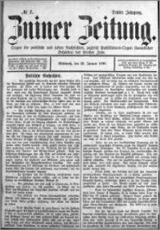 Zniner Zeitung 1890.01.22 R.3 nr 7