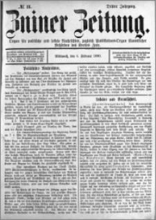 Zniner Zeitung 1890.02.05 R.3 nr 11