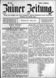 Zniner Zeitung 1890.03.05 R.3 nr 19