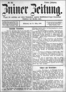 Zniner Zeitung 1890.03.12 R.3 nr 21