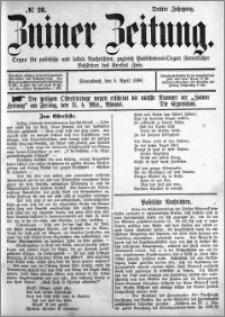Zniner Zeitung 1890.04.05 R.3 nr 28