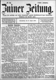 Zniner Zeitung 1890.04.19 R.3 nr 31